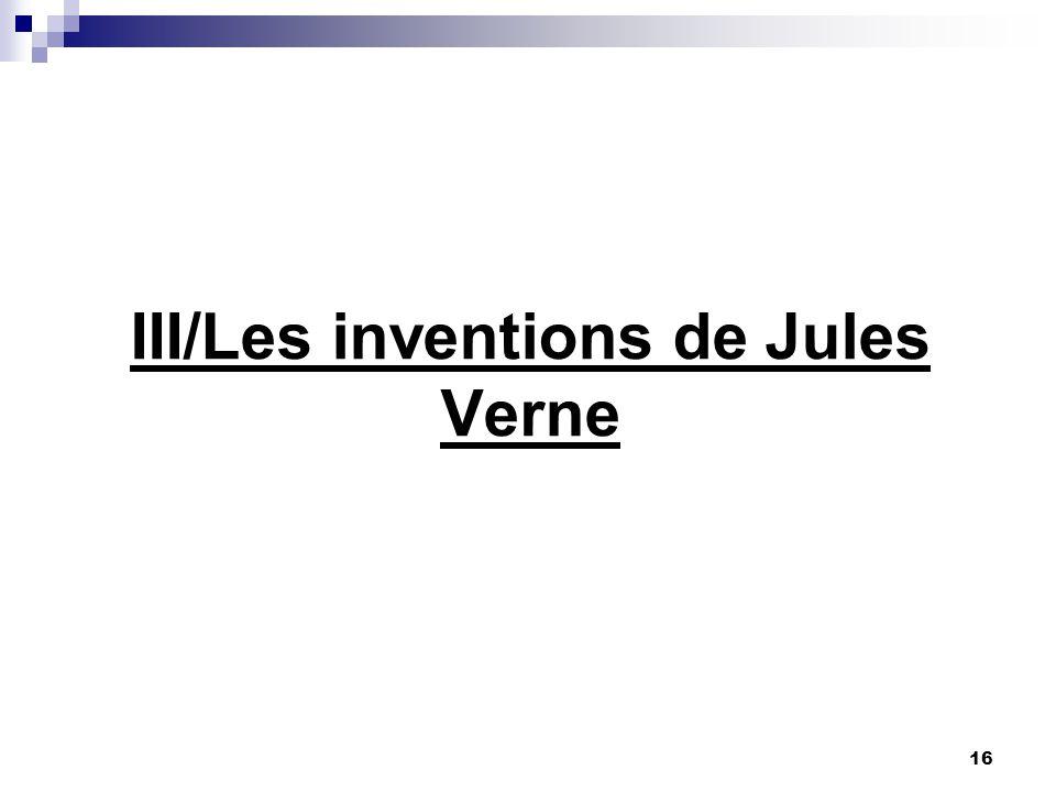 III/Les inventions de Jules Verne
