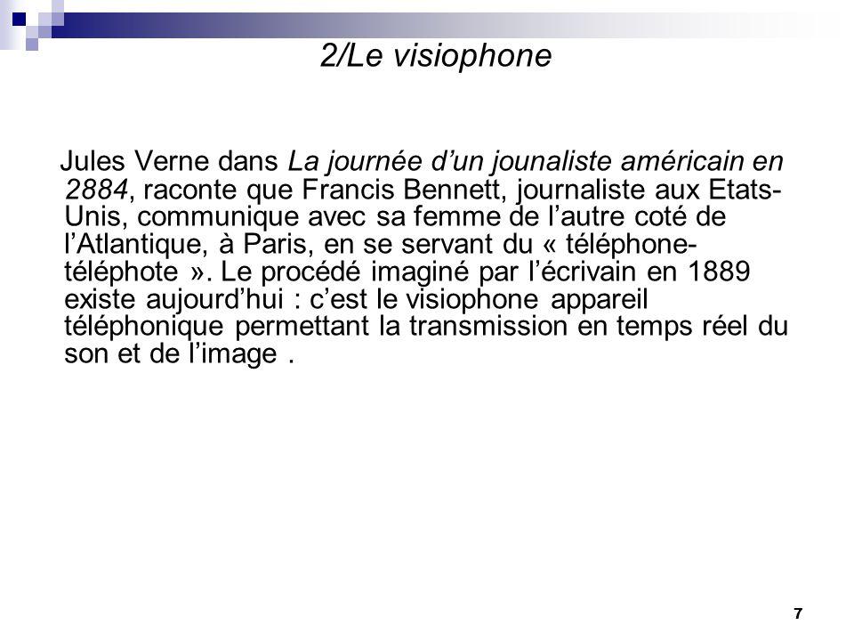 2/Le visiophone