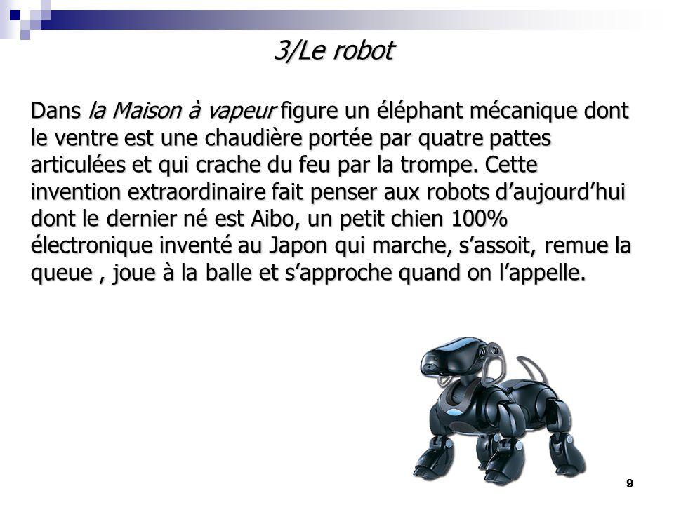 3/Le robot