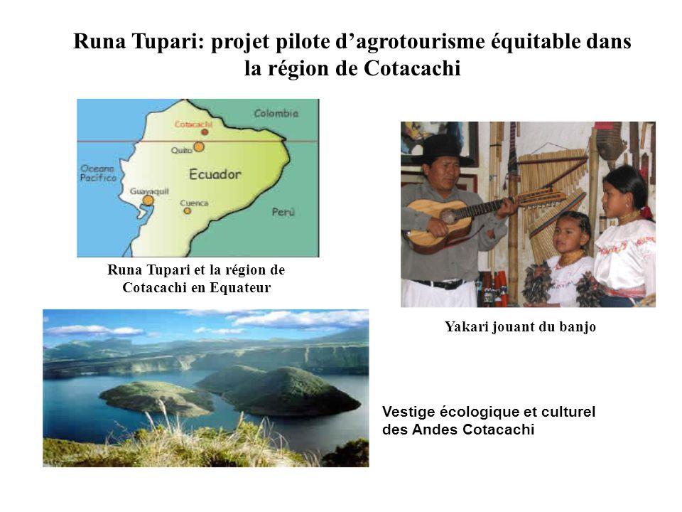 Runa Tupari et la région de Cotacachi en Equateur