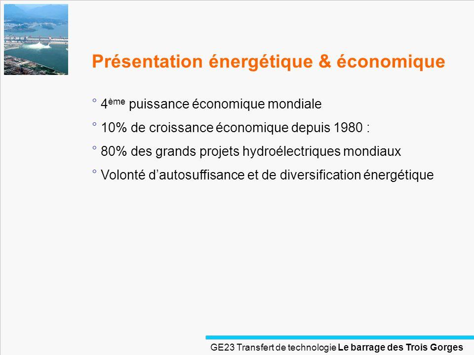 Présentation énergétique & économique