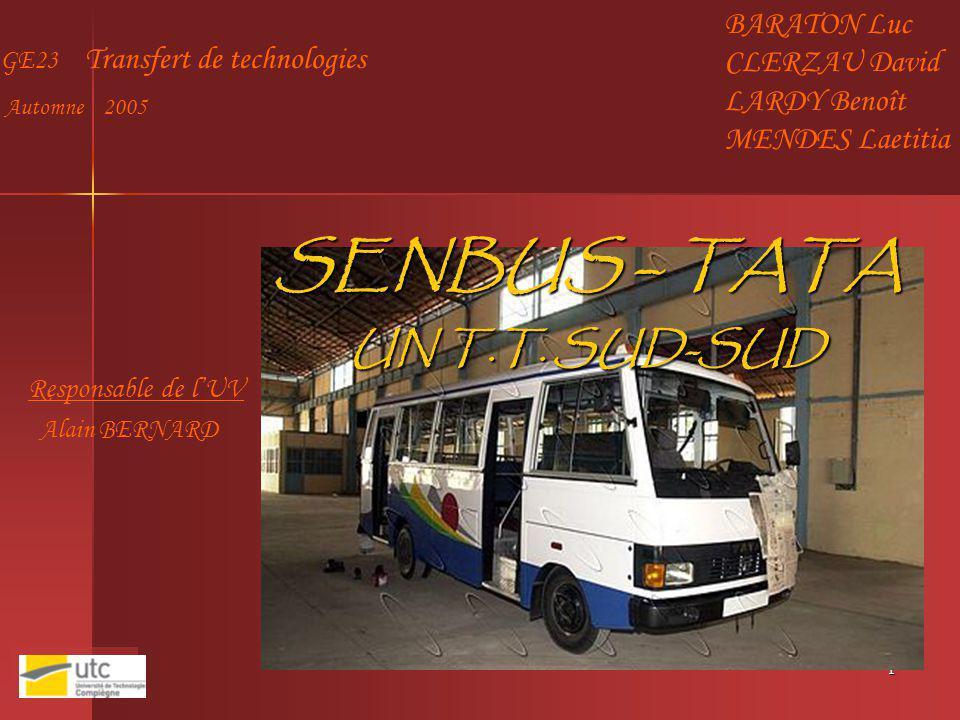 SENBUS – TATA UN T.T. SUD-SUD