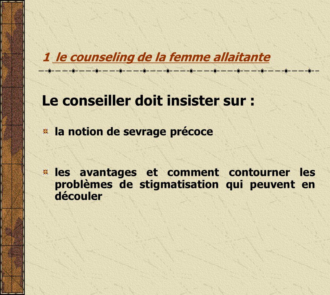 1 le counseling de la femme allaitante