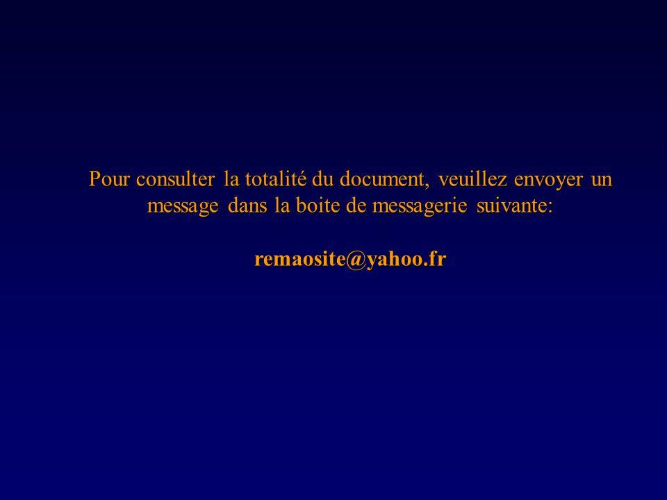 Pour consulter la totalité du document, veuillez envoyer un message dans la boite de messagerie suivante: remaosite@yahoo.fr