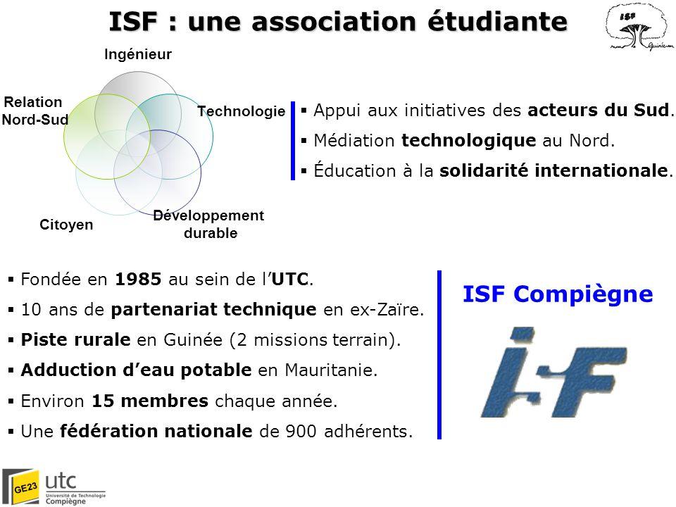 ISF : une association étudiante