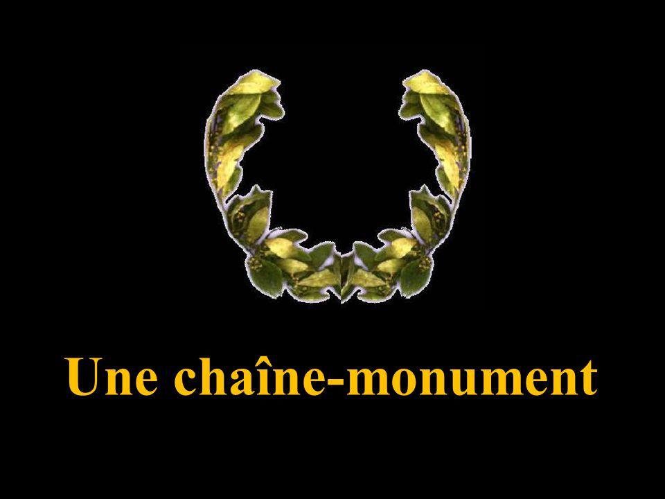 Une chaîne-monument 1