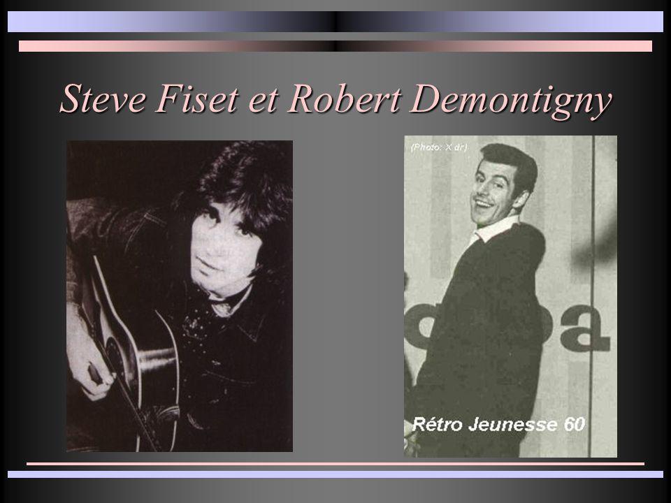 Steve Fiset et Robert Demontigny