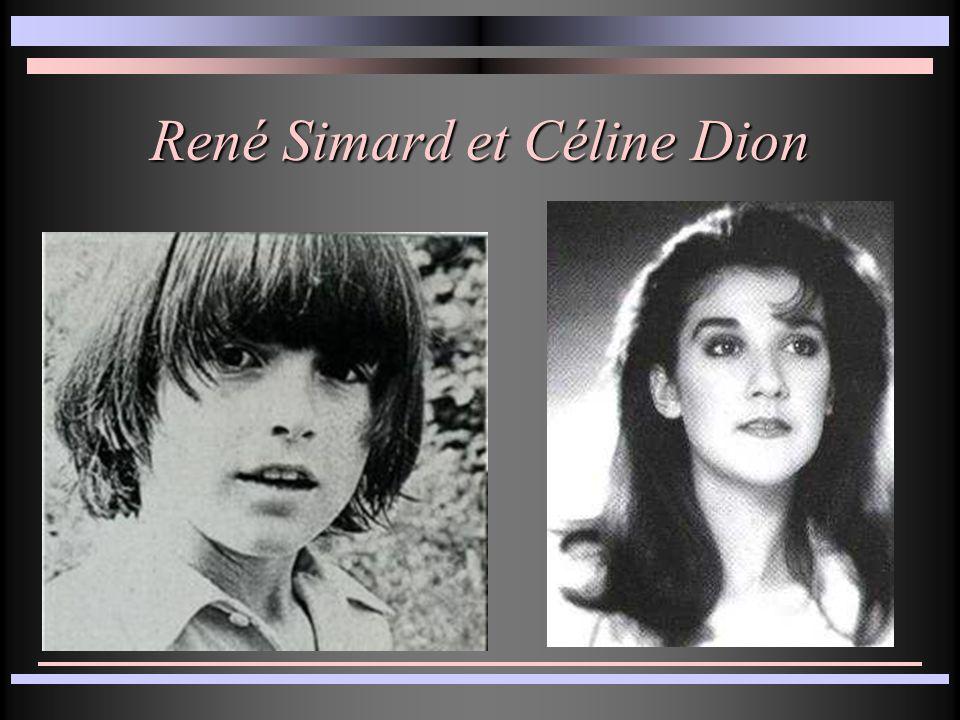 René Simard et Céline Dion