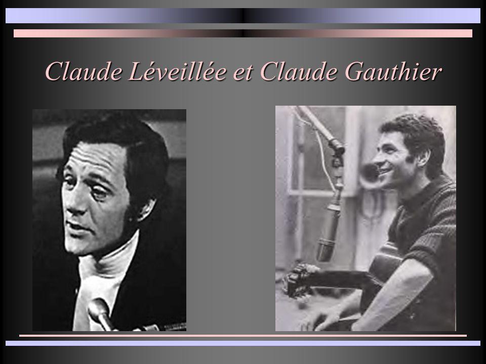 Claude Léveillée et Claude Gauthier