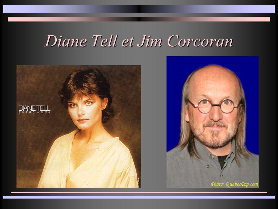 Diane Tell et Jim Corcoran