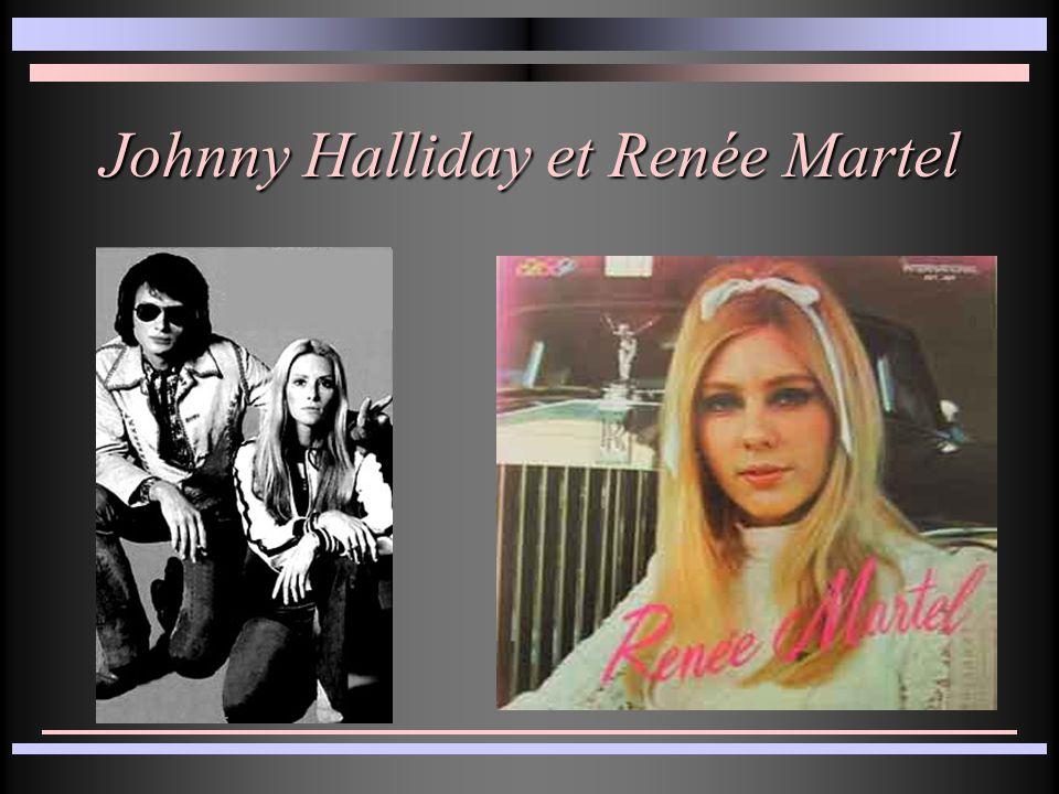Johnny Halliday et Renée Martel