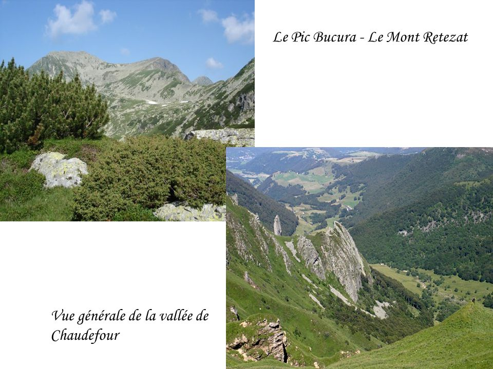 Le Pic Bucura - Le Mont Retezat