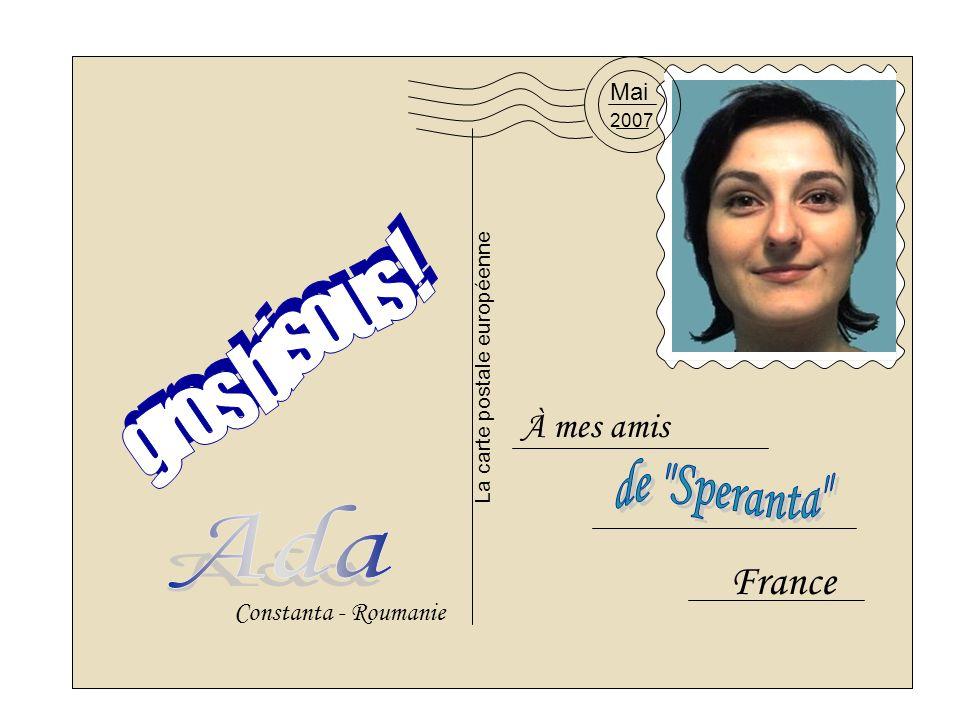La carte postale européenne