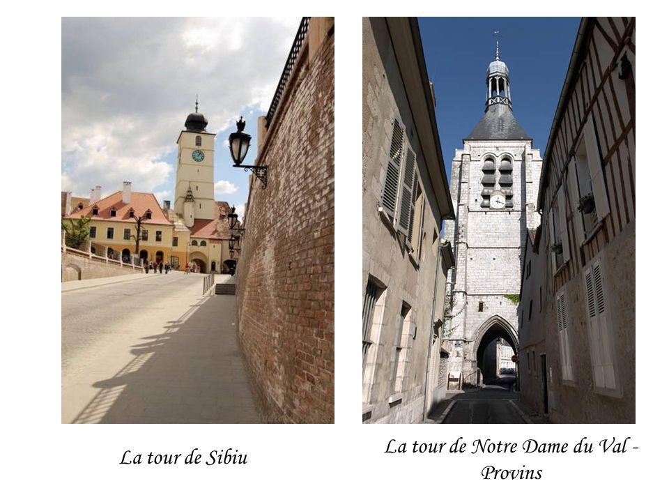 La tour de Notre Dame du Val - Provins