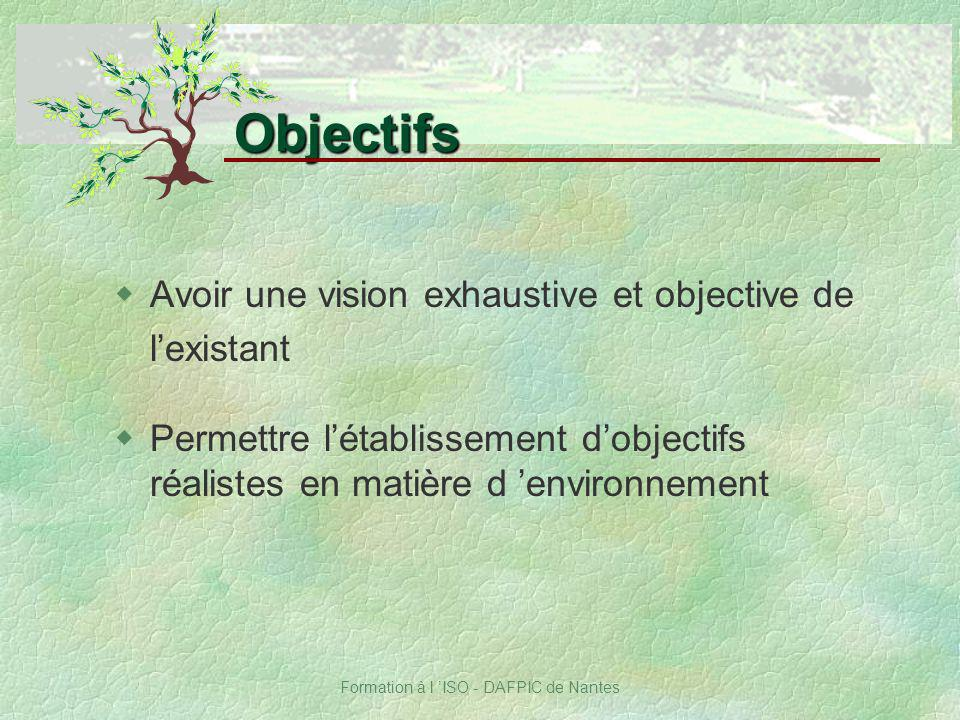 Formation à l 'ISO - DAFPIC de Nantes