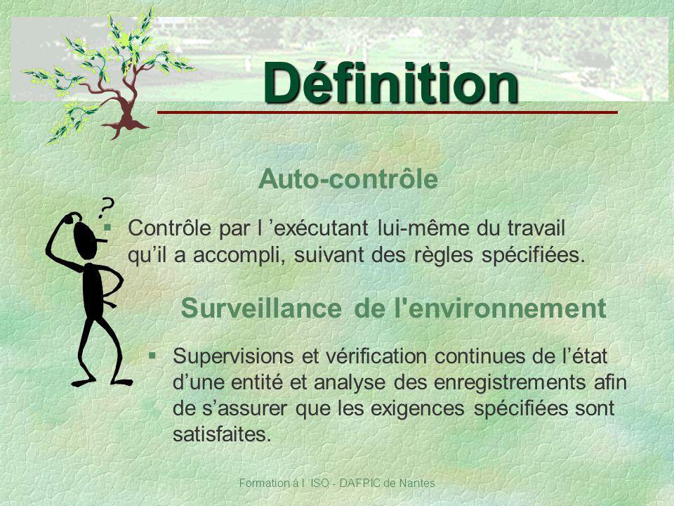 Surveillance de l environnement