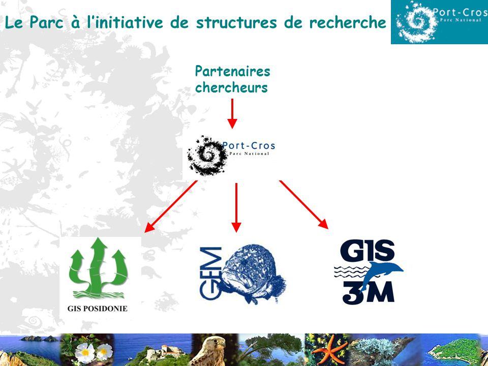 Le Parc à l'initiative de structures de recherche
