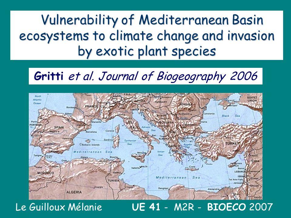 Gritti et al. Journal of Biogeography 2006