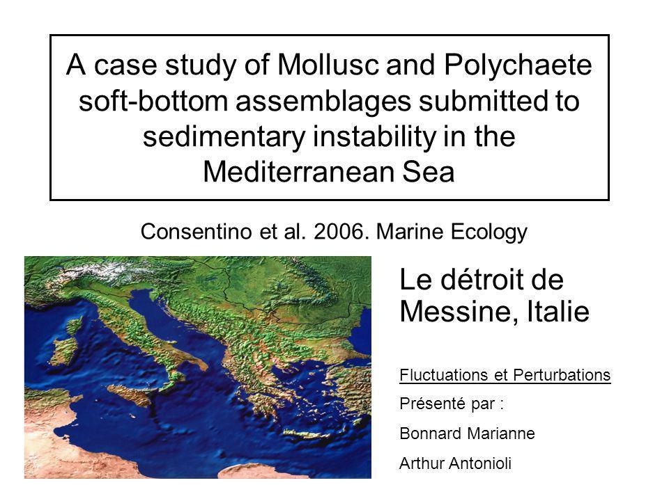 Consentino et al. 2006. Marine Ecology