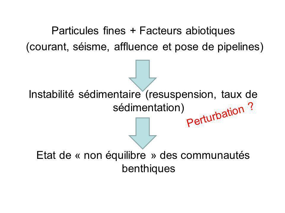 Particules fines + Facteurs abiotiques