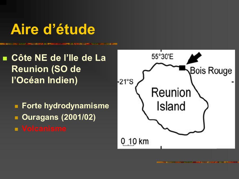 Aire d'étude Côte NE de l'Ile de La Reunion (SO de l'Océan Indien)