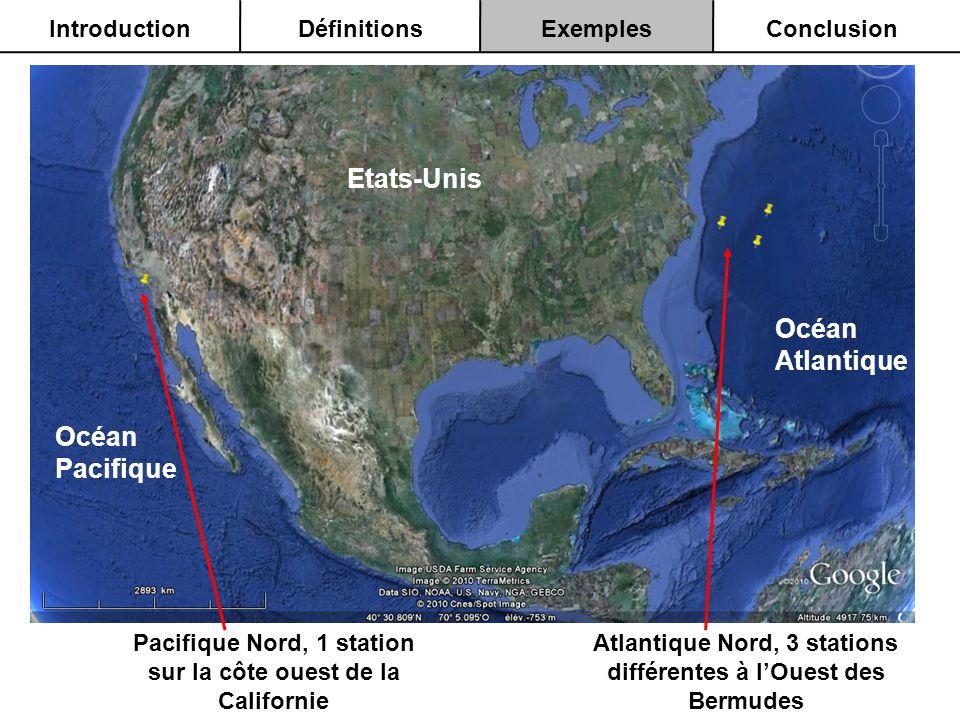 Etats-Unis Océan Atlantique Océan Pacifique Introduction Définitions