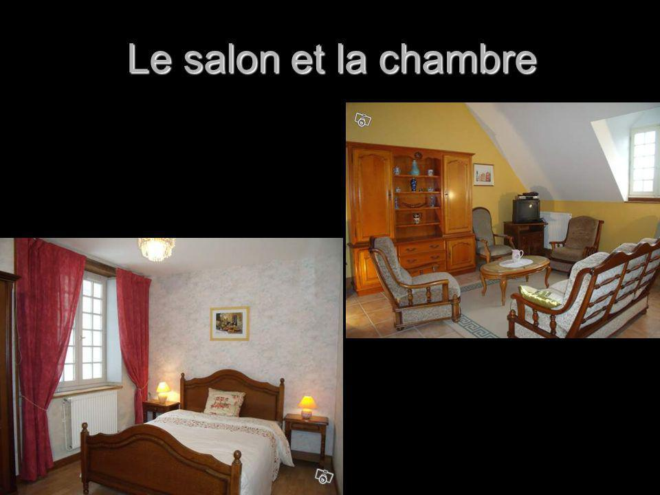 Le salon et la chambre