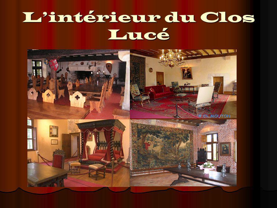 L'intérieur du Clos Lucé