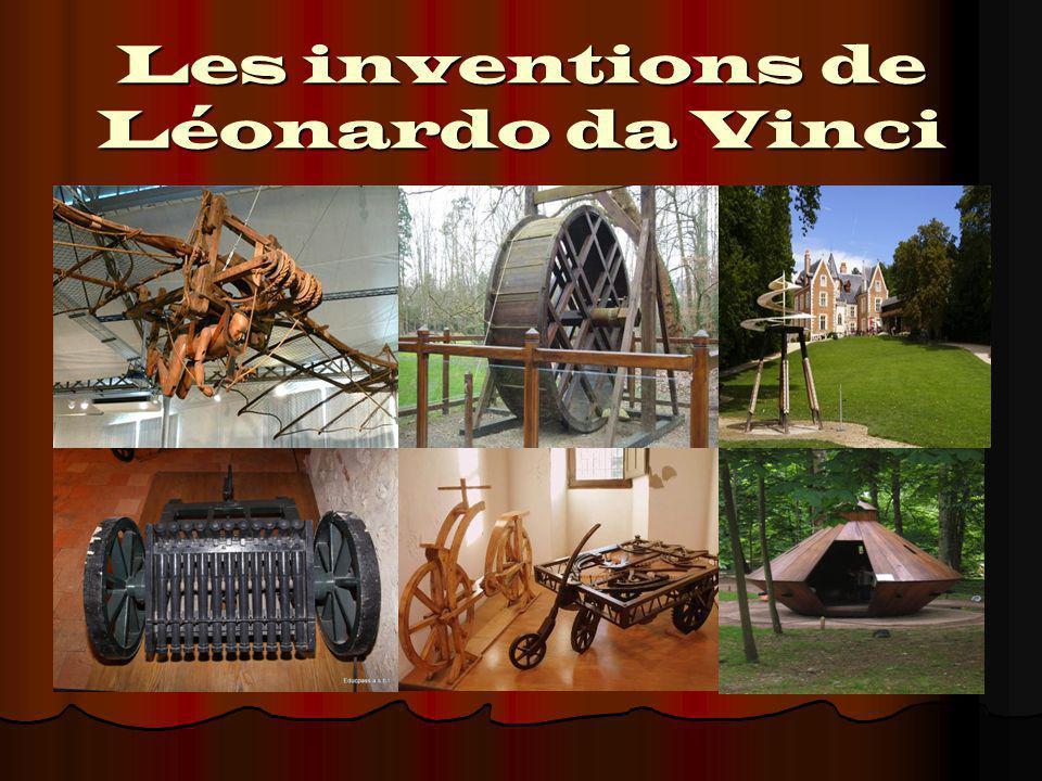 Les inventions de Léonardo da Vinci