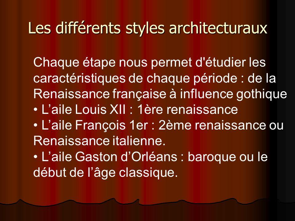 Les différents styles architecturaux