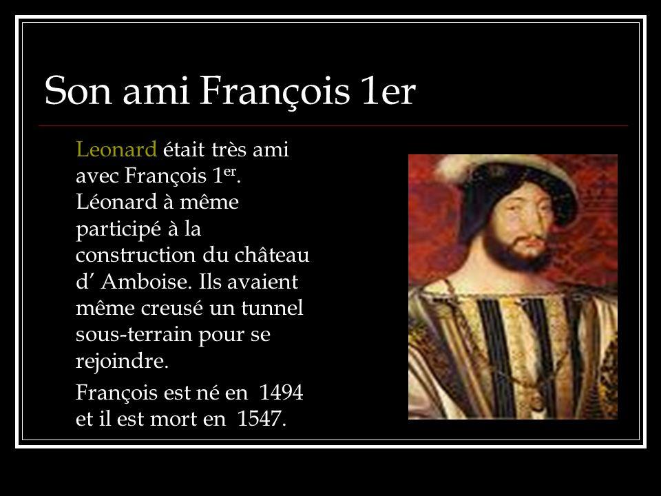 Son ami François 1er