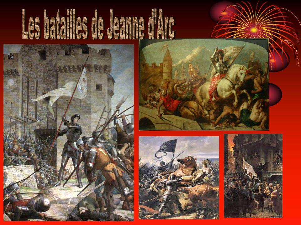 Les batailles de Jeanne d'Arc