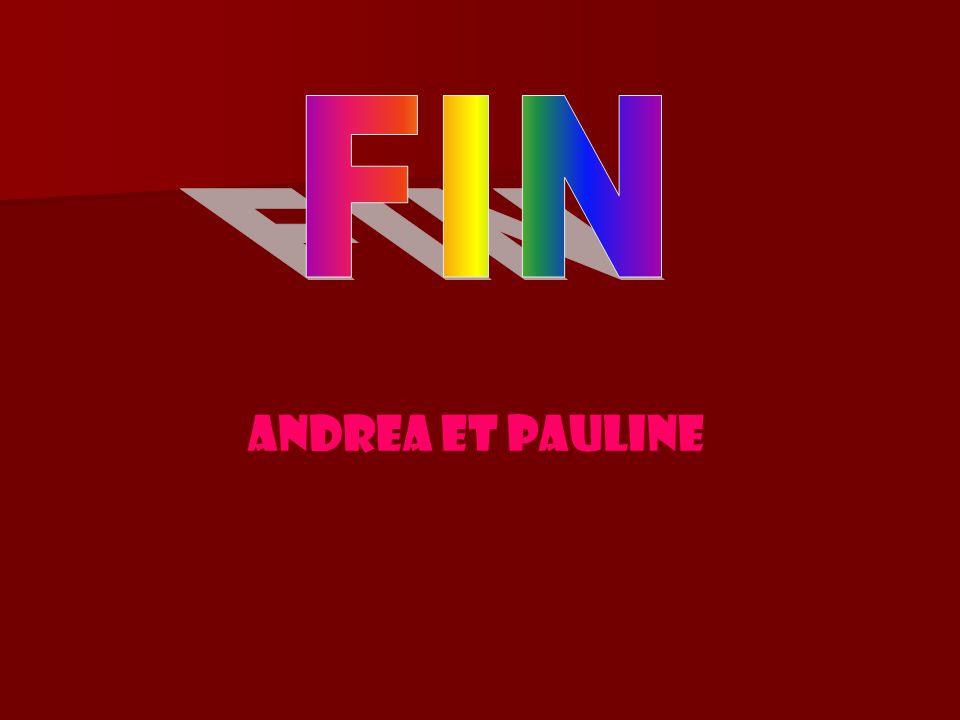 FIN ANDREA et PAULINE