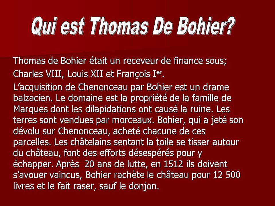 Qui est Thomas De Bohier
