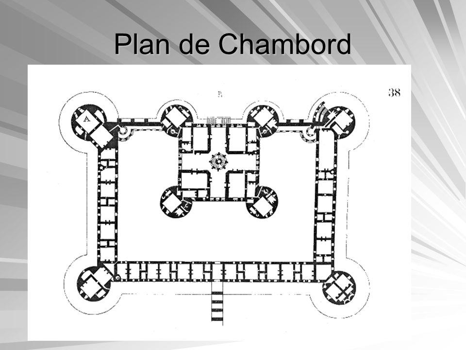Plan de Chambord