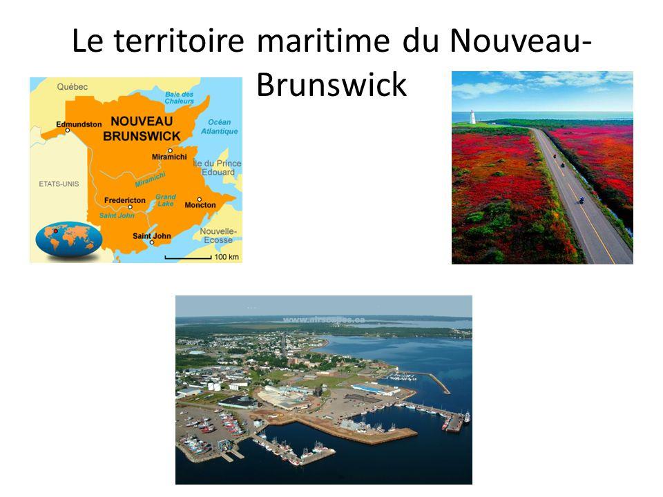 Le territoire maritime du Nouveau-Brunswick