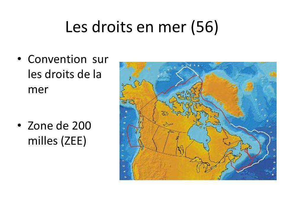 Les droits en mer (56) Convention sur les droits de la mer