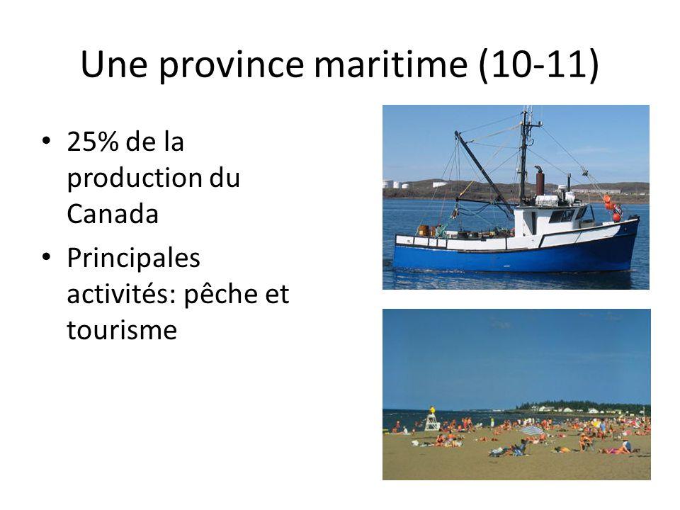 Une province maritime (10-11)