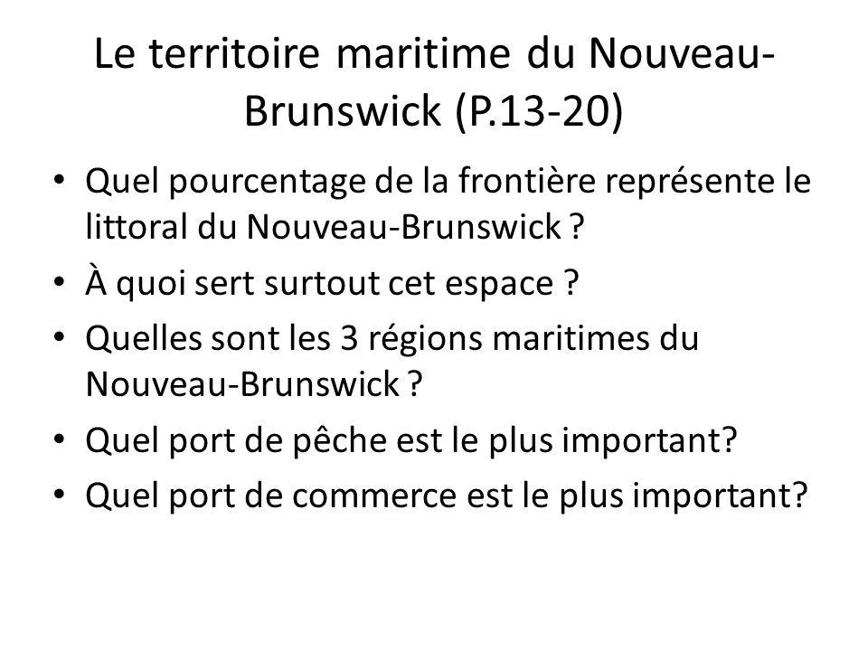 Le territoire maritime du Nouveau-Brunswick (P.13-20)