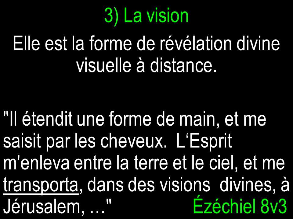 Elle est la forme de révélation divine visuelle à distance.