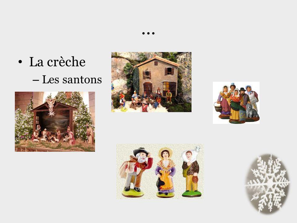 … La crèche Les santons