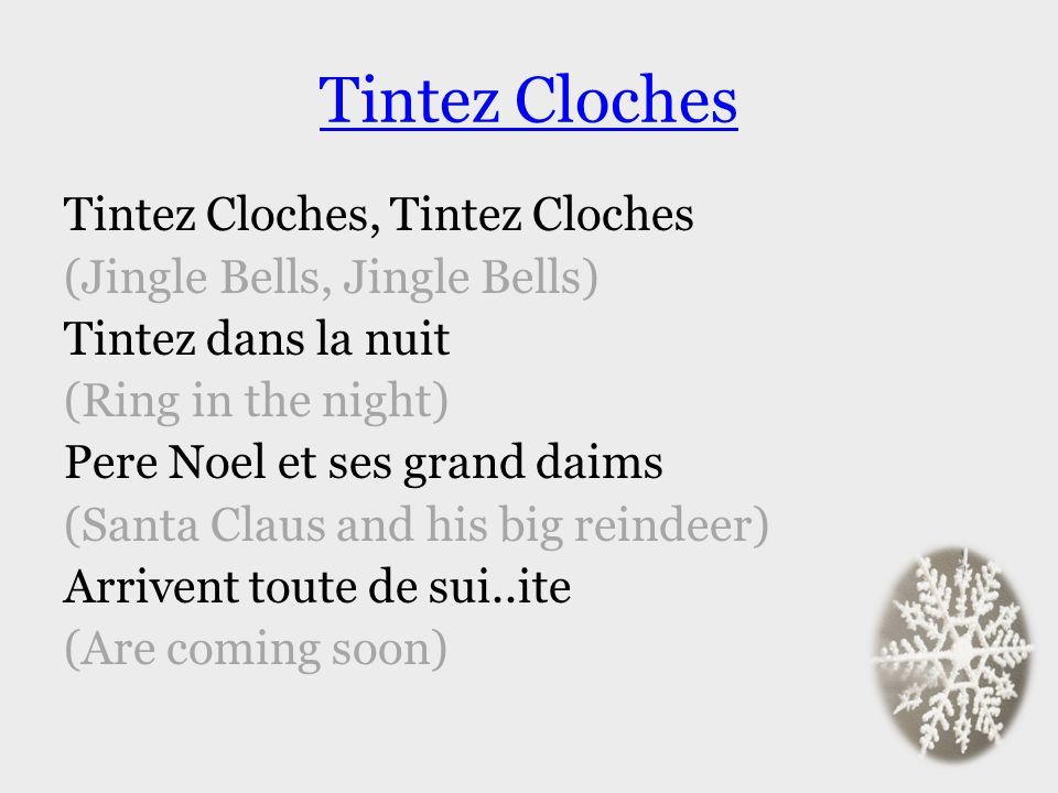 Tintez Cloches