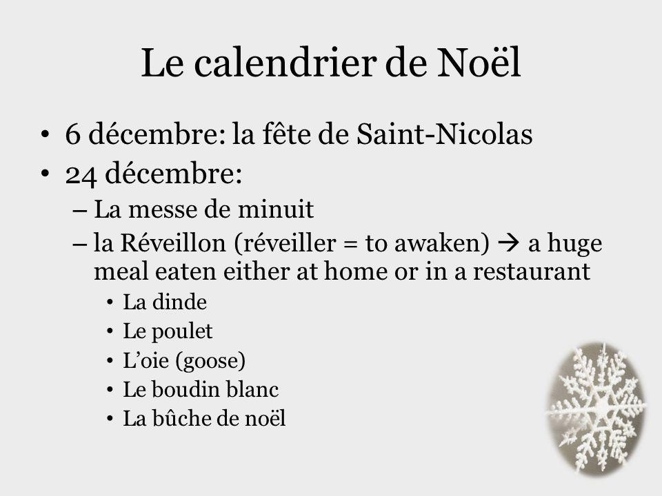 Le calendrier de Noël 6 décembre: la fête de Saint-Nicolas