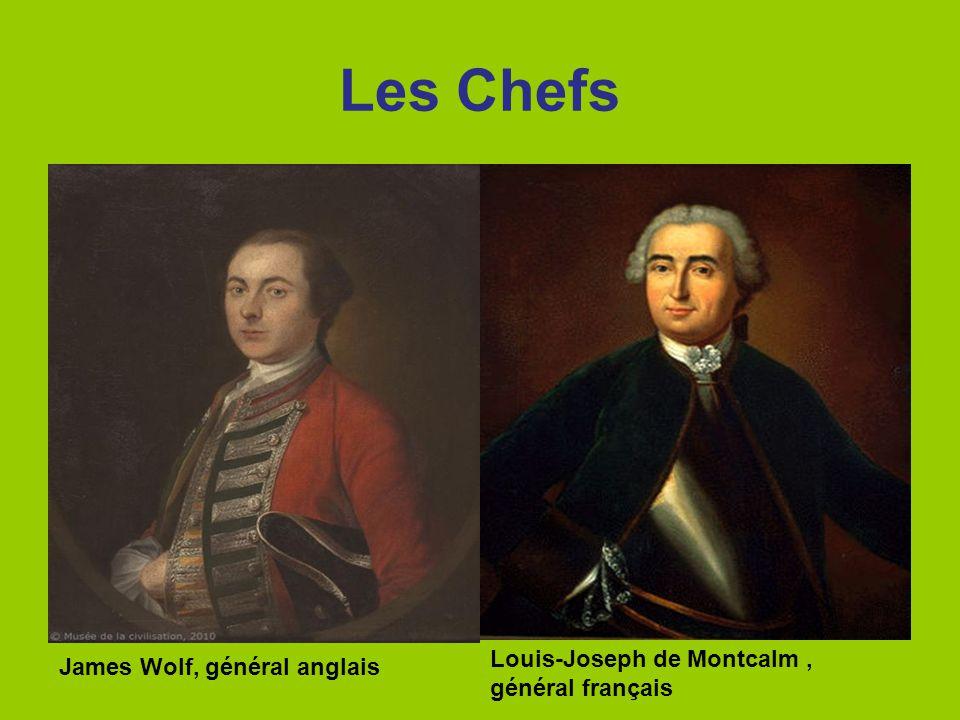 Les Chefs Louis-Joseph de Montcalm , général français