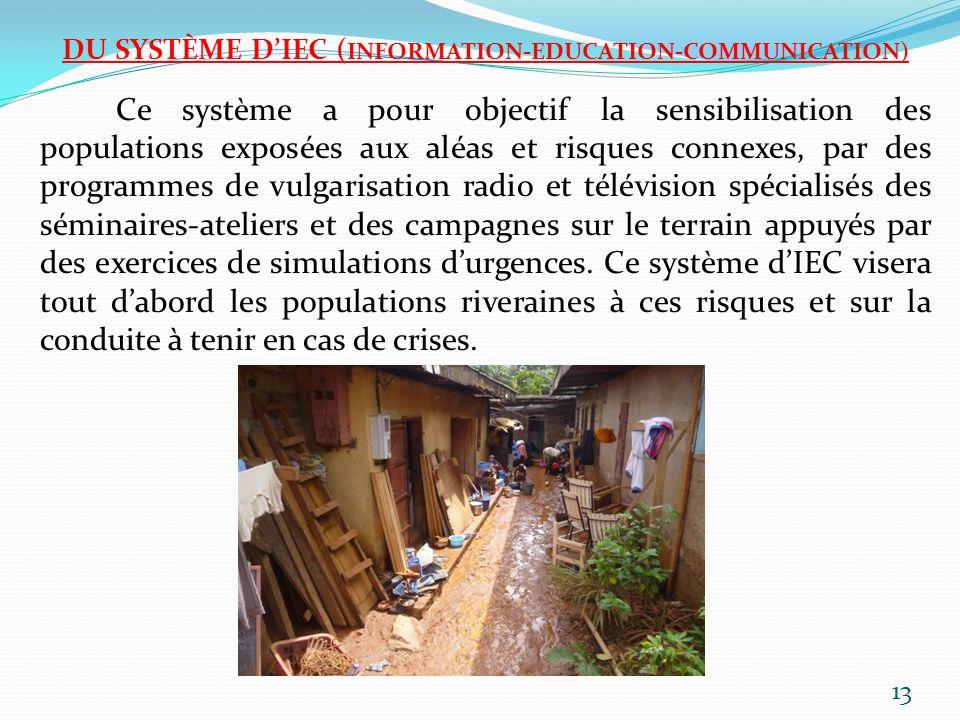 DU SYSTÈME D'IEC (INFORMATION-EDUCATION-COMMUNICATION)