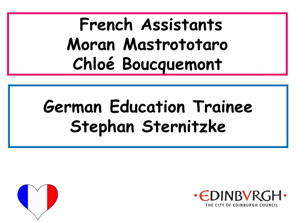 German Education Trainee