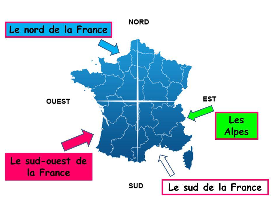 Le sud-ouest de la France