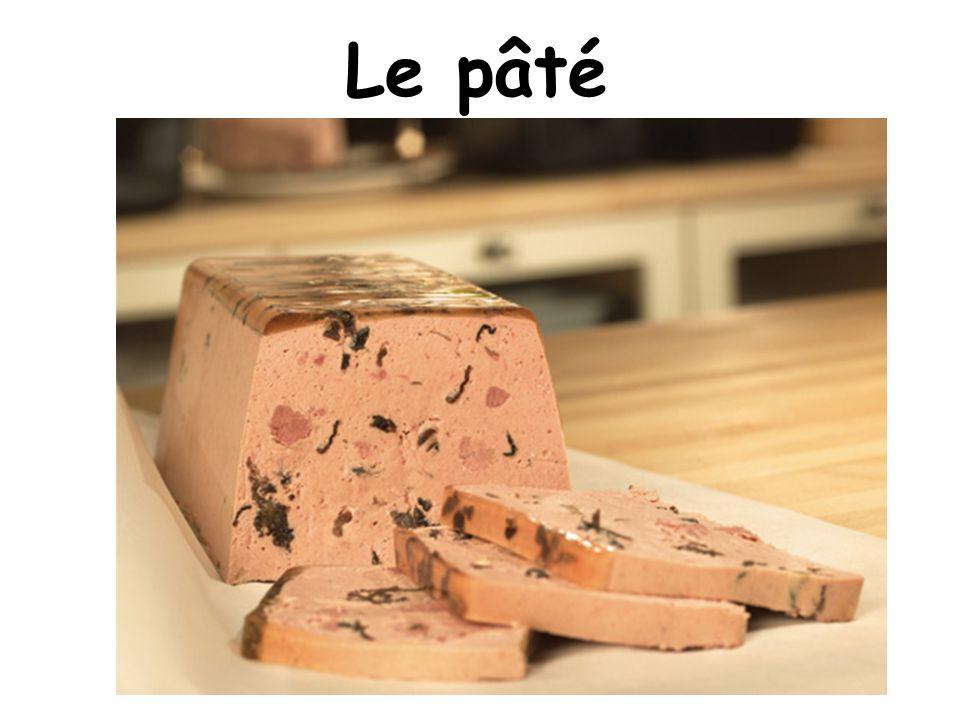 Le pâté On Christmas eve, we eat a lot! With our family.