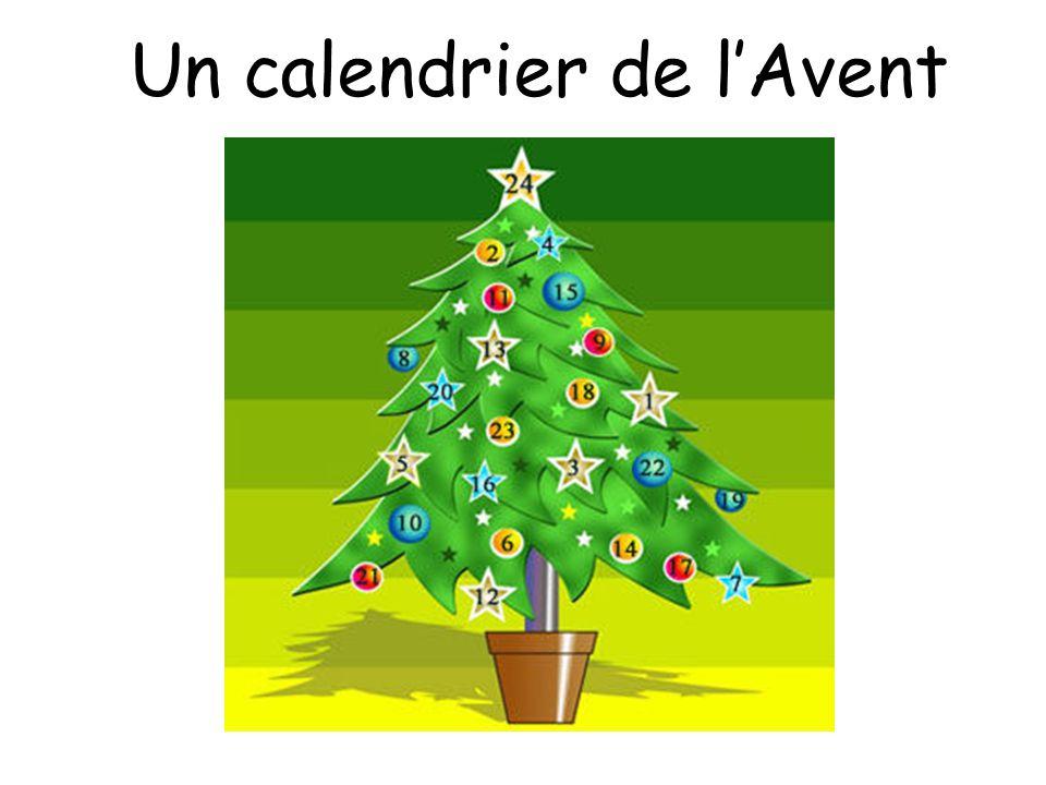 Un calendrier de l'Avent
