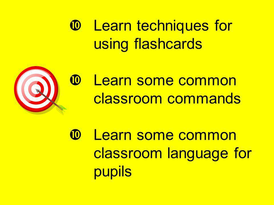 Learn techniques for using flashcards